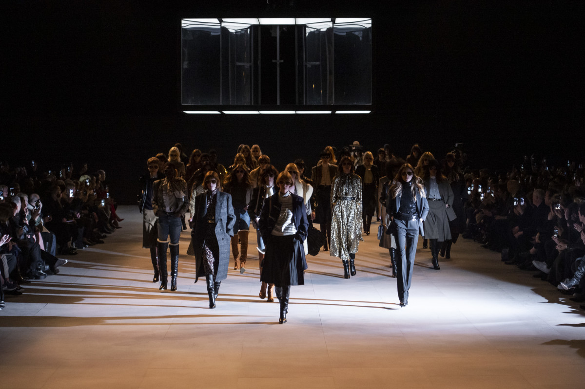 Las mujeres de Slimane.  (Fuente: fashionista.com)