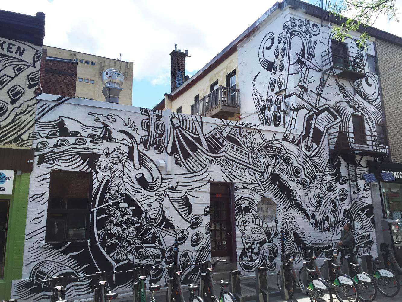 Client: Montreal Mural Festival & Kraken Rum