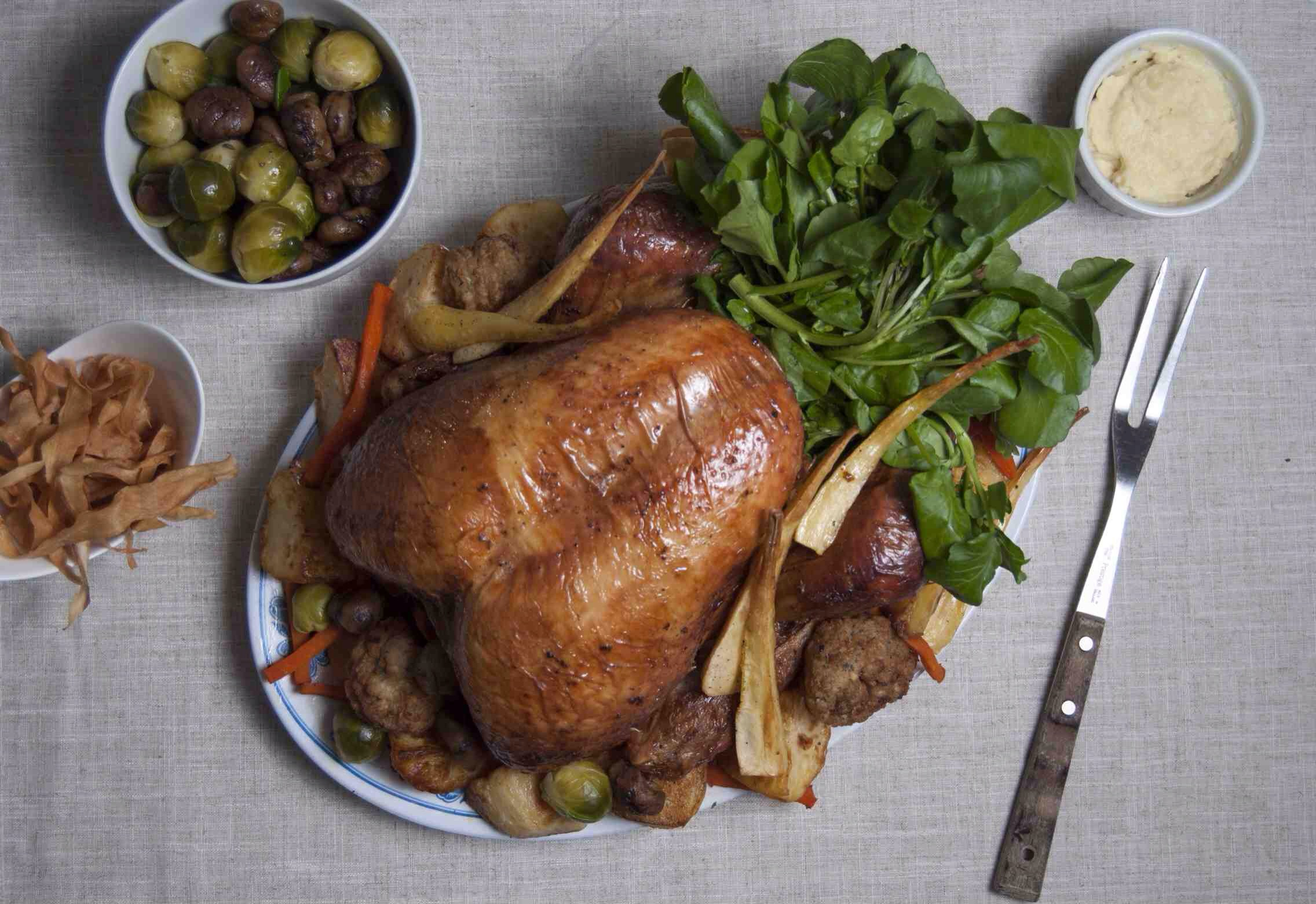 ⭐⭐⭐⭐⭐ - Our Organic Turkey got top marks in the Daily Mail's taste test