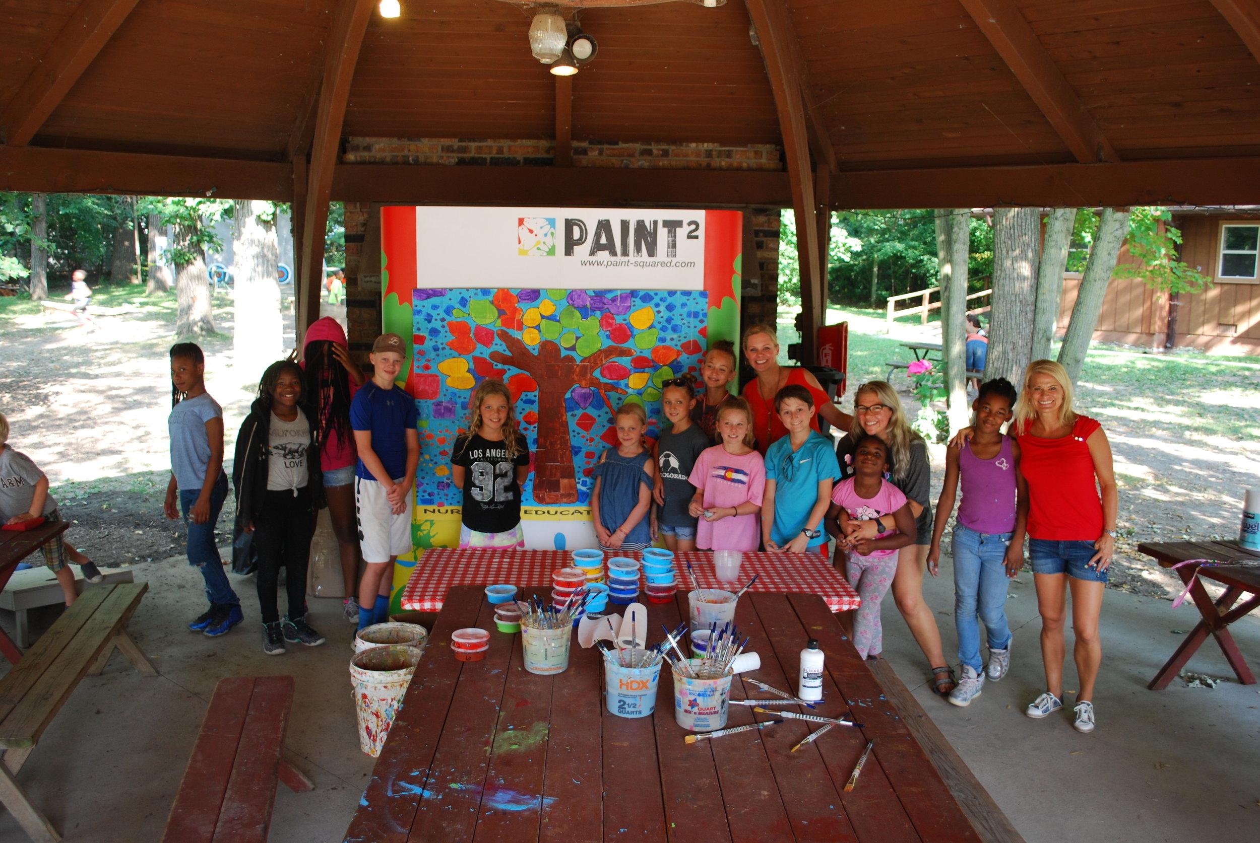 Volunteer at Camp -