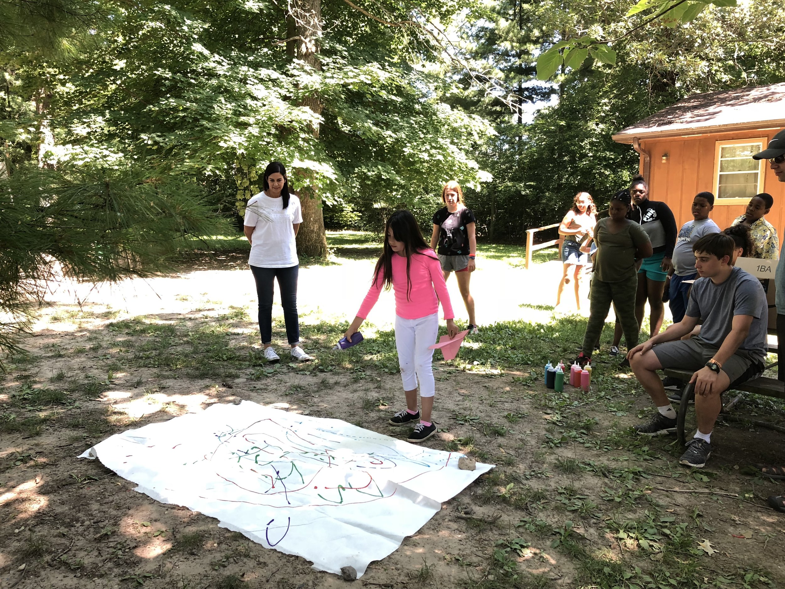 Volunteer - Share your interests and talents with campers during a Sunday Fun-Day at camp (Delavan, WI). Year-round volunteer opportunities are also available at the Settlement (Chicago, IL).