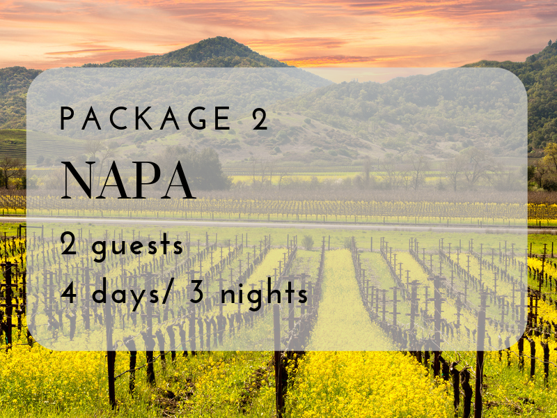Quintessential Napa Valley Experience