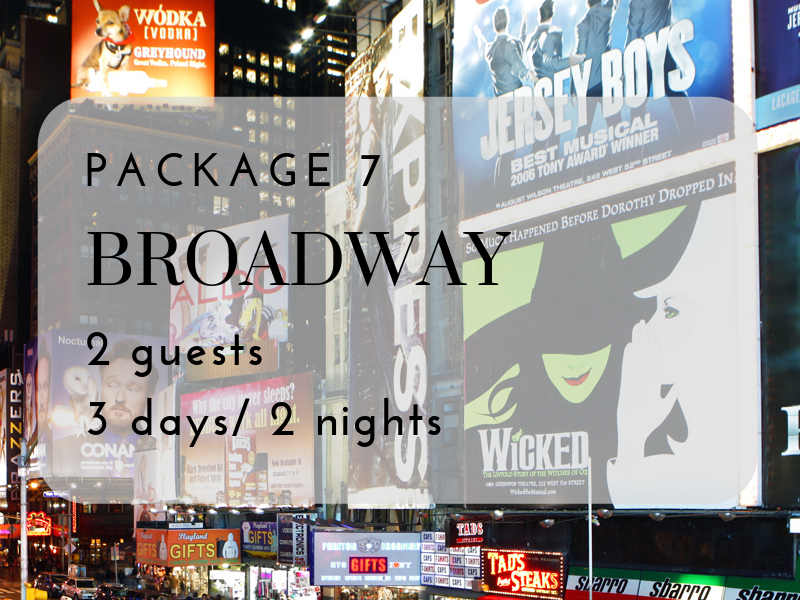 VIP Broadway Experience