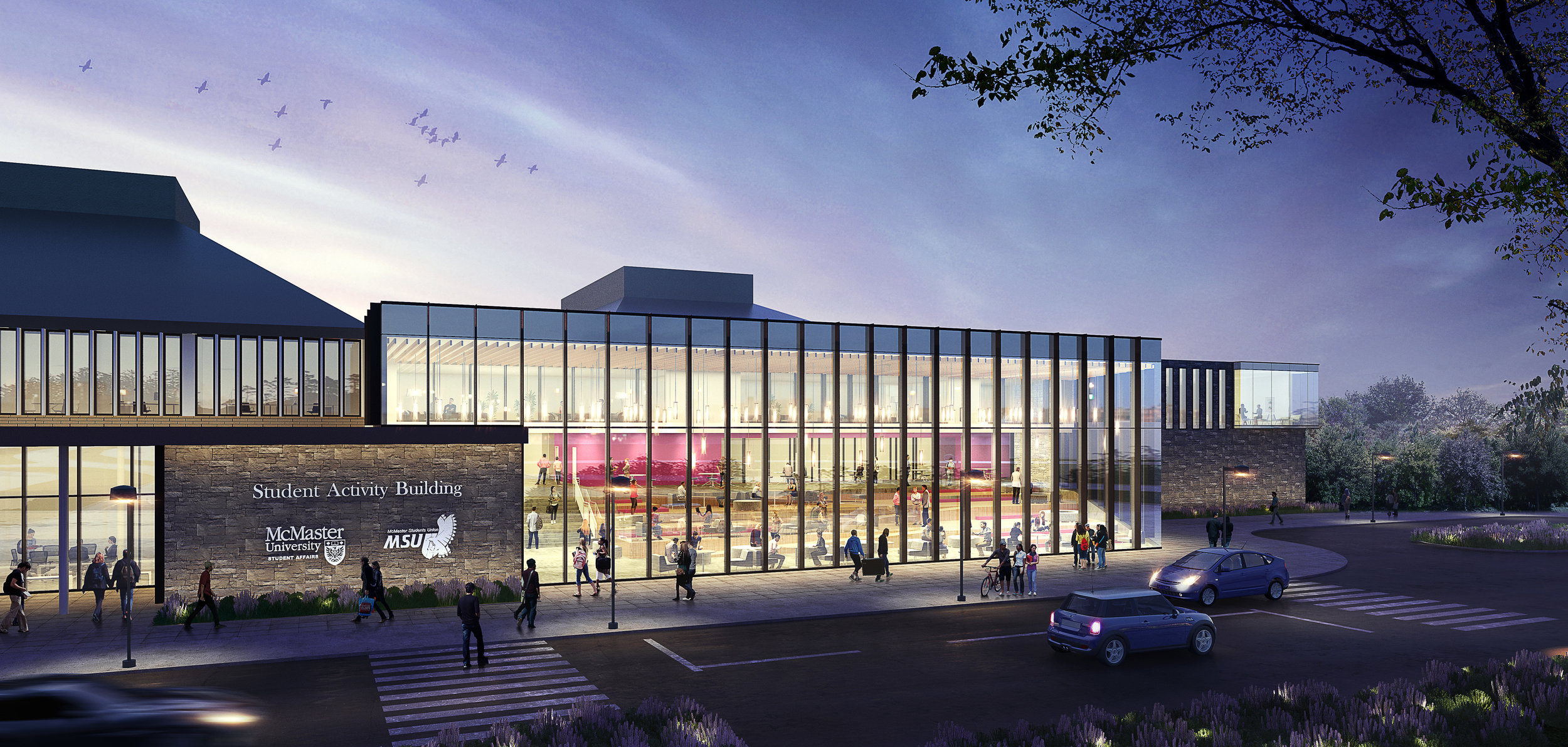The MSU, through negotiations with the University and the subsequent student referendum, will add 40,000 square feet of non-academic, student-focused space to campus.. The building will include a grocery store, prayer space, event space, a peer support hub, a community kitchen and more.