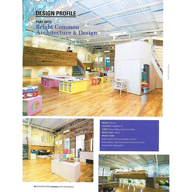 Honored to be recognized by @aiaphiladelphia in the Summer 2019 issue of Context magazine for our #passivehouse guided #foamfree #deepenergyretrofit of one of two remaining Philadelphia public bath houses for @playartsphilly , who now runs their amazing play based arts and enrichment center out of it. We're more into #radicalreconstruction than strict preservation, but what drives us is de-carbonizing these old energy hogs towards a fossil fuel free and especially #frackfree near future. #climatechangeadaptedurbanism #greennewdealphiladelphia #sustainable19125 #brightcommon