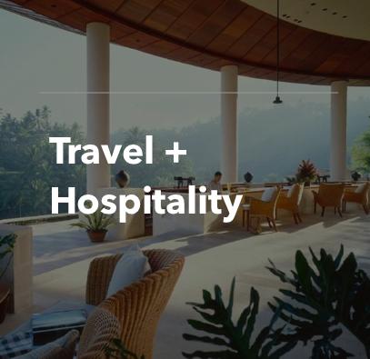 Travel + Hospitality