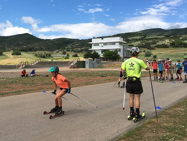 This past weekend our U14 athlete Ally and Coach Lina represented MEA at the Intermountain Division's U15 camp in Soldier Hollow, UT. Lots of great training and new friends! 💫⛷