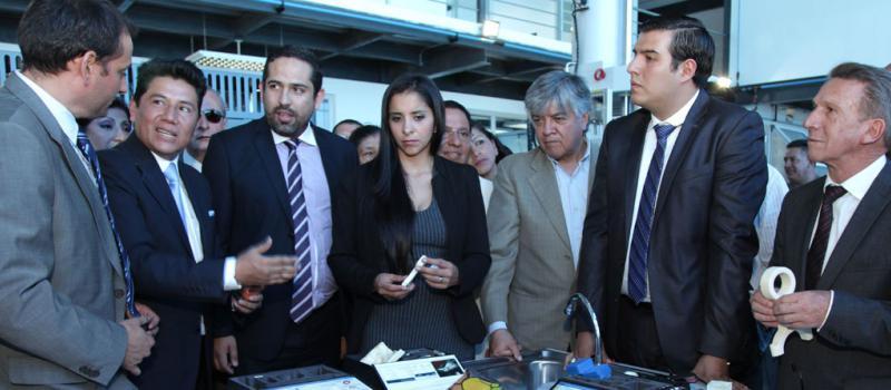 Ambato inauguró el centro para la homologación de carrocerías