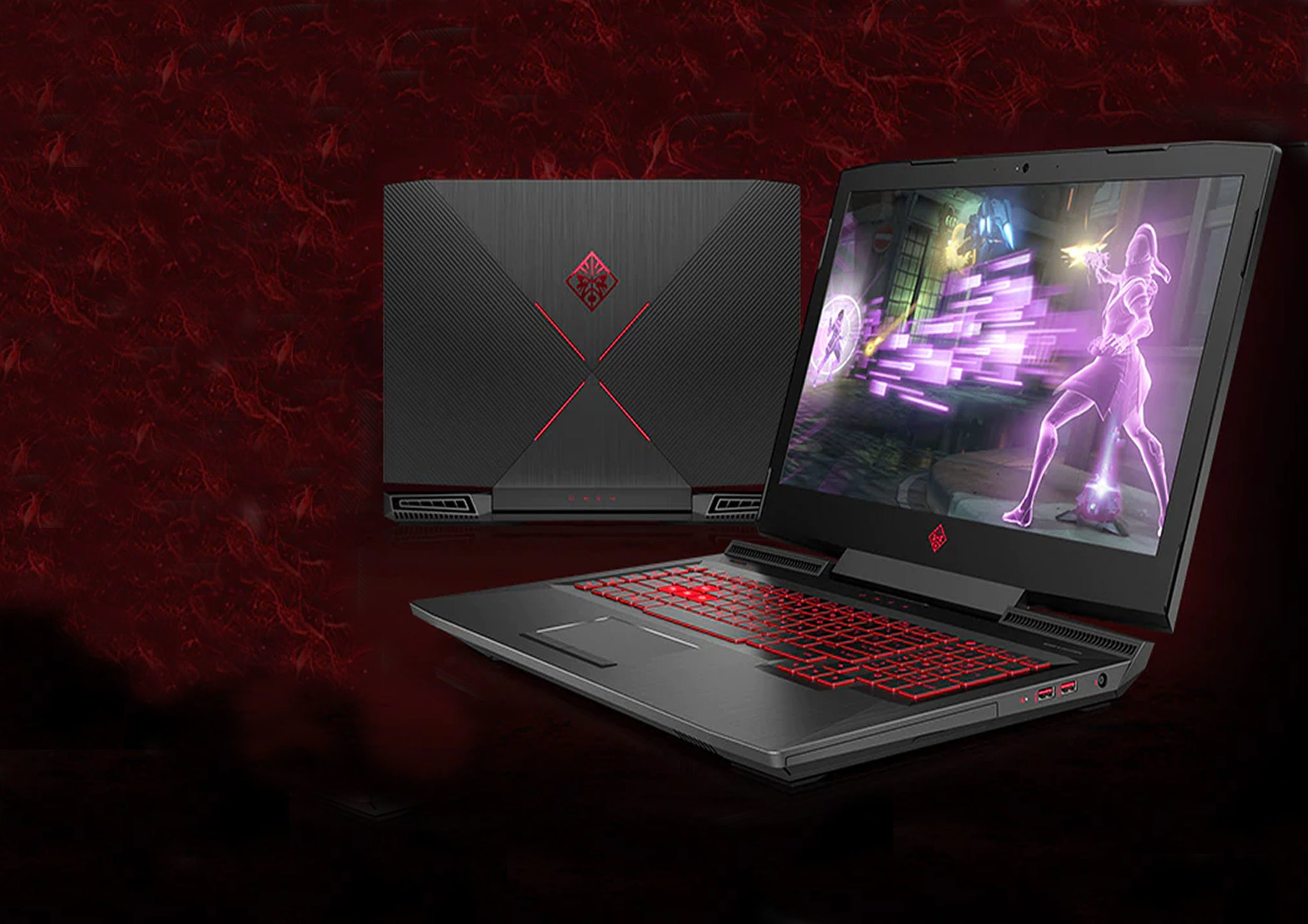 OMEN Laptops - Conquista la campaña desde prácticamente cualquier lugar con los últimos procesadores Intel® Core™ i7, gráficos NVIDIA® o AMD y refrigeración de alto rendimiento.