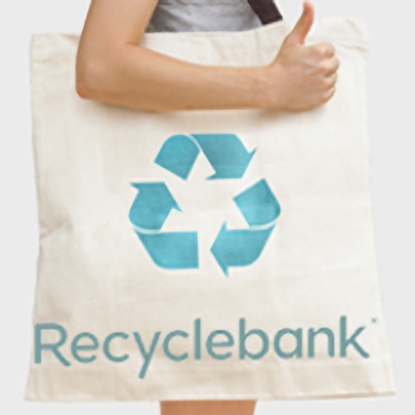 Recyclebank Shopping Tote