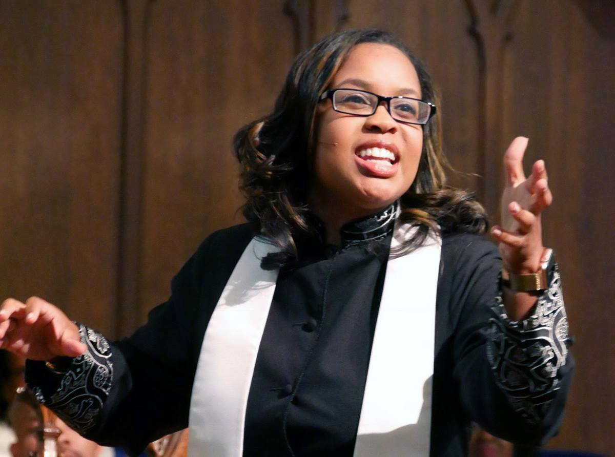 """The current church discrimination """"does not capture for a lot of United Methodists, the Wesleyan theology that governs how we treat people and interact with people of God."""" - Rev. Jasmine Smother / Atlanta Journal-Constitution"""
