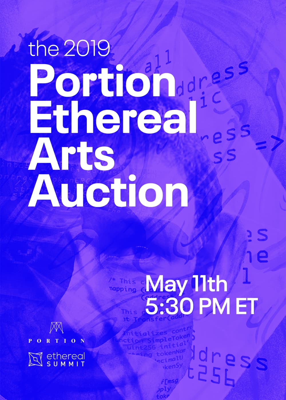 Portion Ethereal Summit Arts Auction Catalogue Blockchain