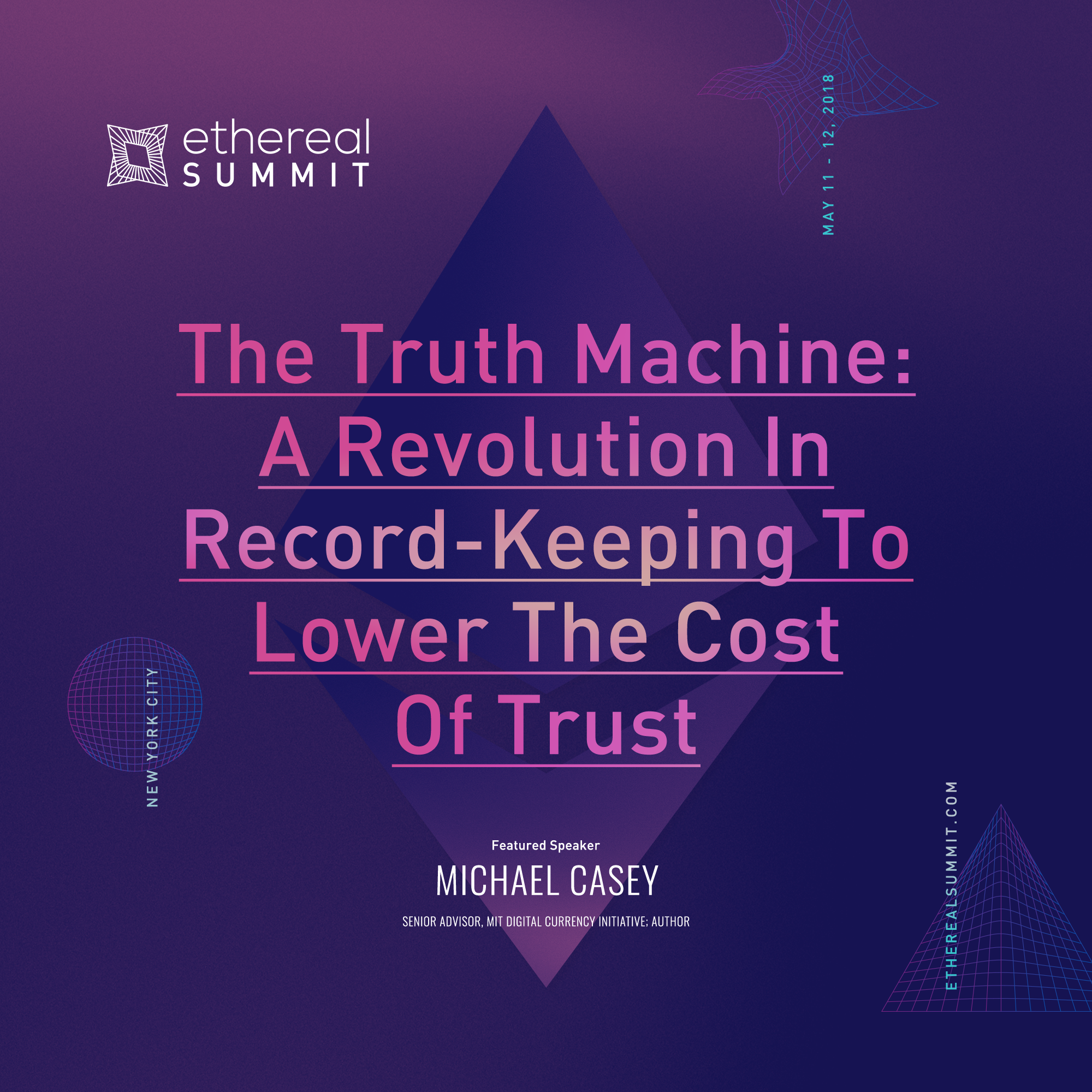 The Truth Machine: A Revolution In Recording-Keeping To Lower The Cost of Trust
