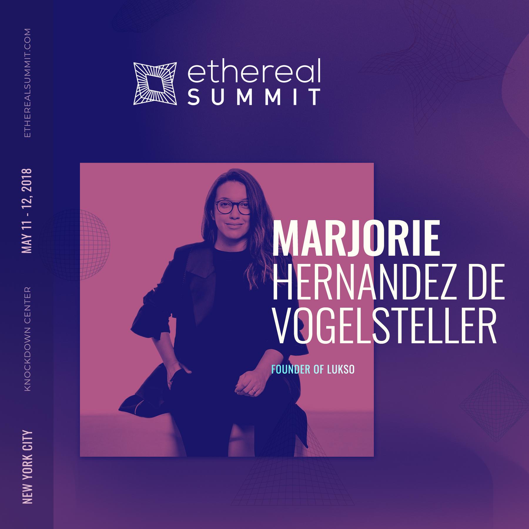 Marjorie Hernandez de Vogelsteller