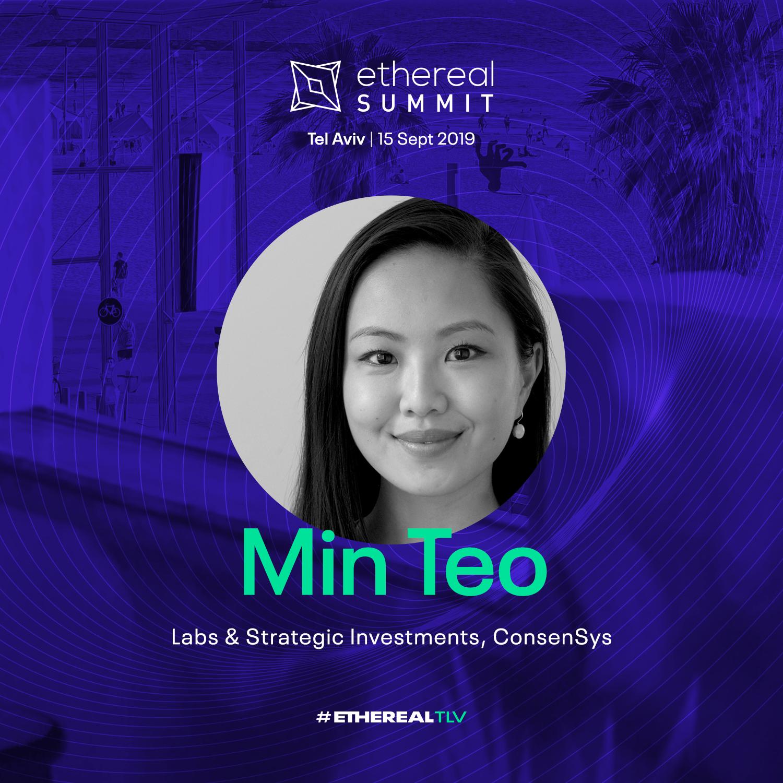 Ethereal Summit 2019 Tel Aviv Speaker Min Teo ConsenSys Labs