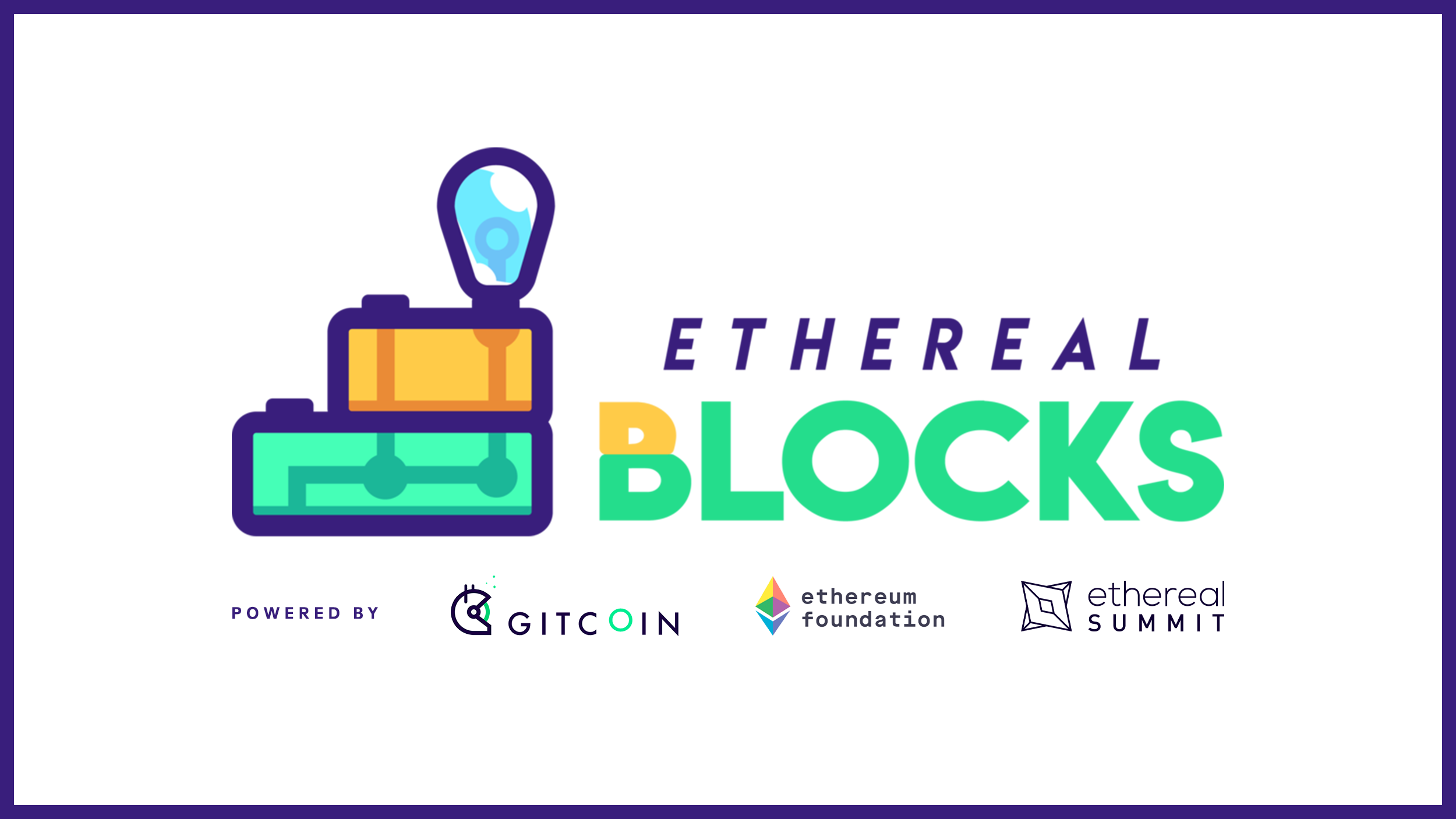 Ethereal Blocks Hackathon - Build projects that make a difference in the blockchain movement with some of the best developers in the world. $50,000+ in prizes up for grabs!Powered by Gitcoin, Ethereal Summit and Ethereum Foundation.
