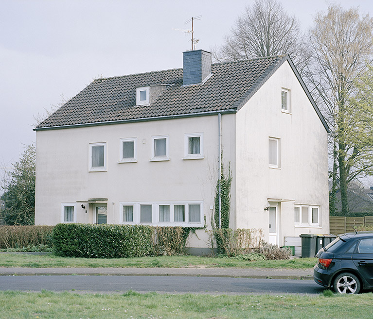 Wisseler Straße, Goch, Germany. April 2018