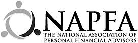 NAPFA Black White Logo.png