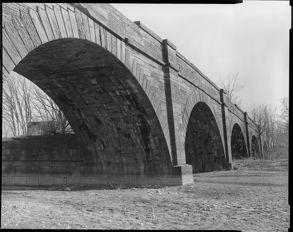 Enlarged Erie Canal Schoharie Aqueduct, Fort Hunter, Montgomery County