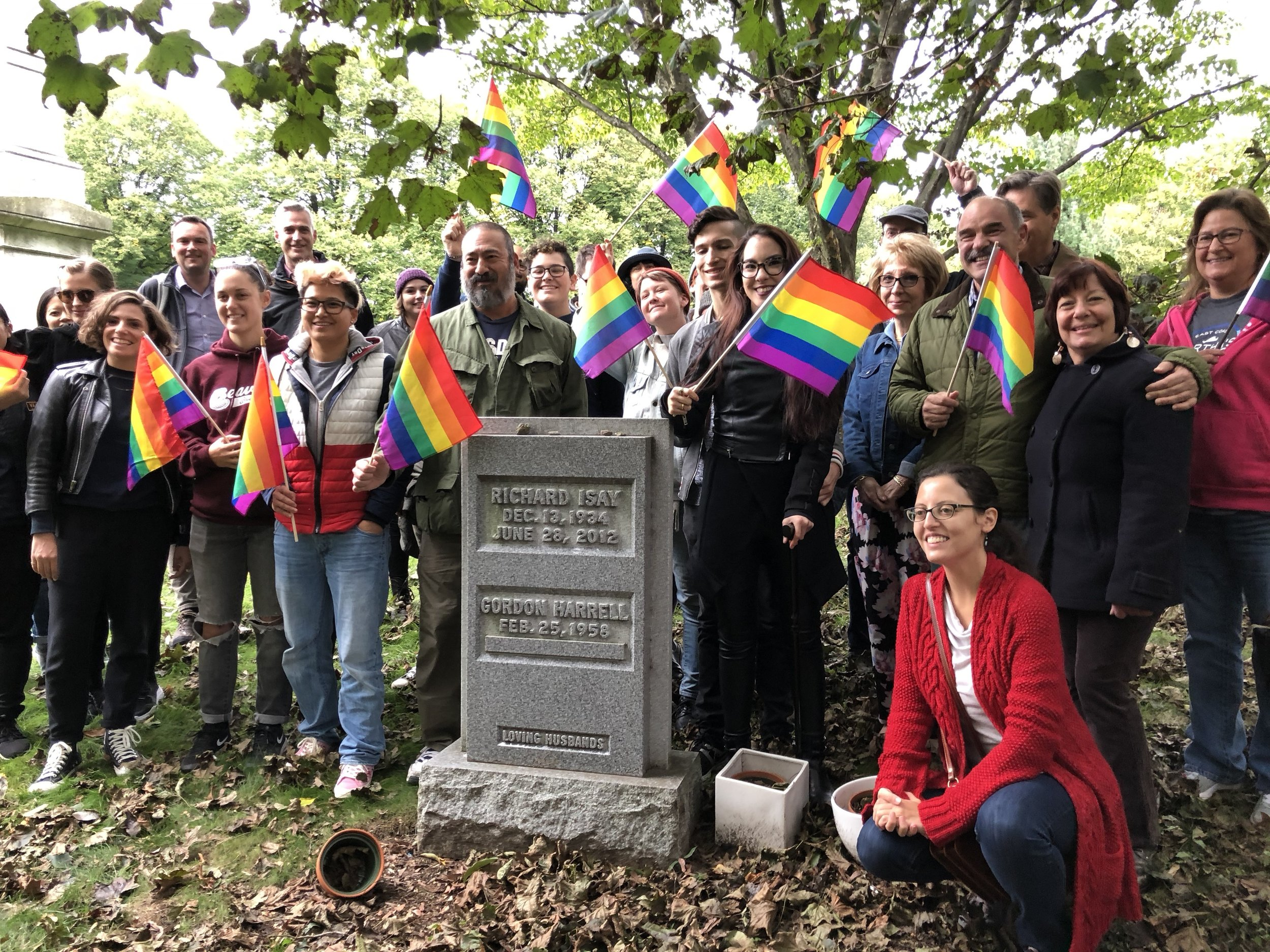 Photo courtesy of the NYC LGBT Historic Sites Project