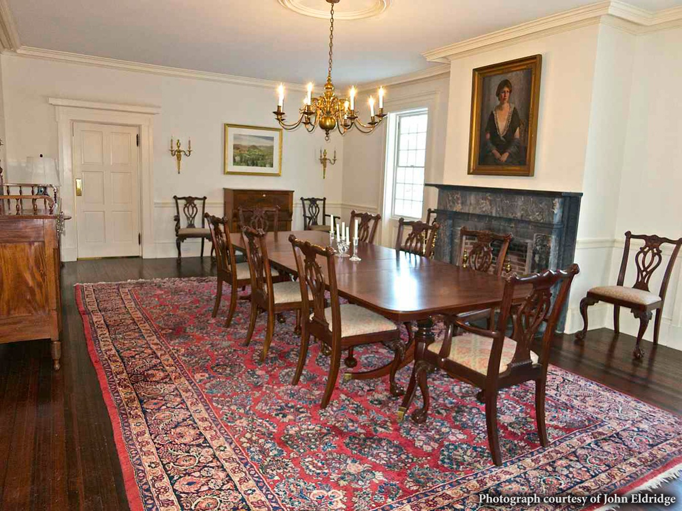 Daniel Conkling House, dining room