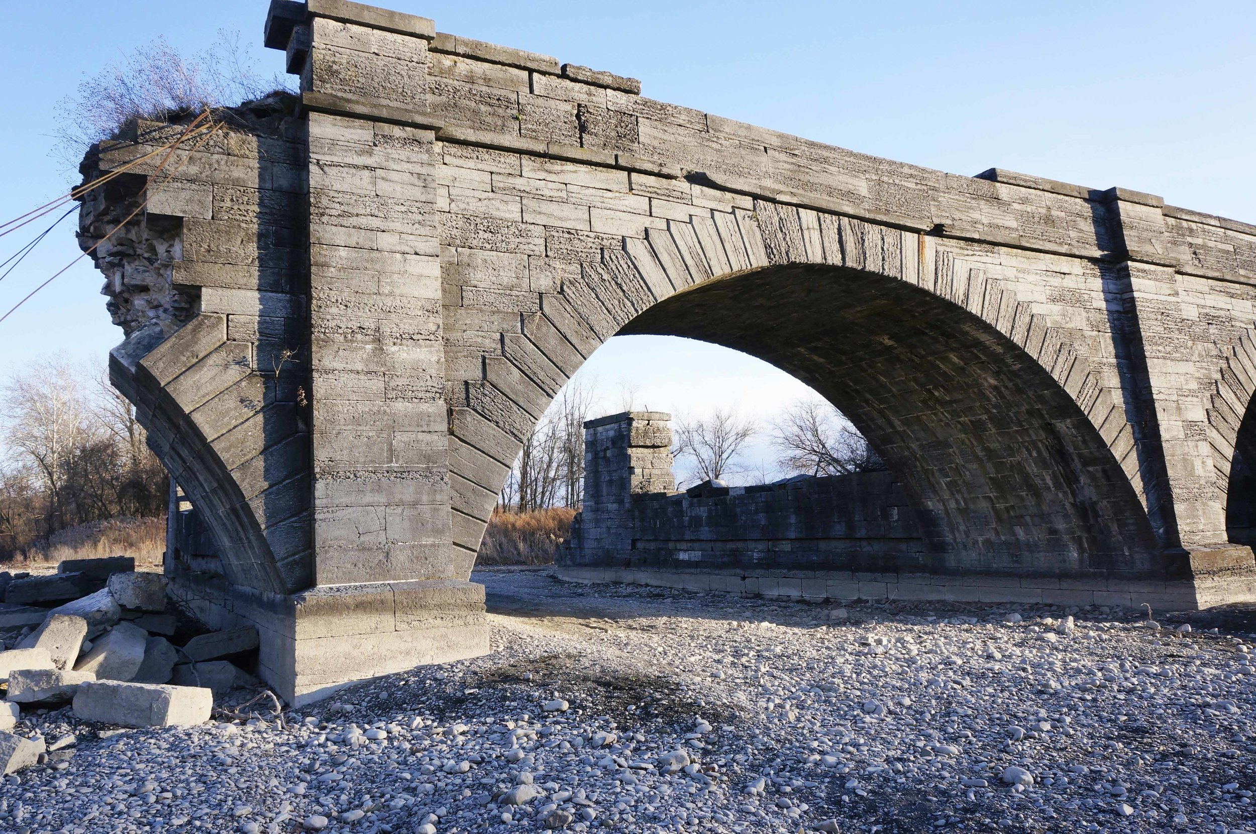 The Schoharie Aqueduct in Montgomery County was included on our 2018-19 Seven to Save list.