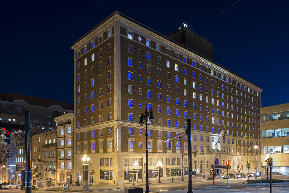 The Renaissance Albany Hotel. Restored with historic tax credits and a 2016 Preservation League Excellence Award recipient.