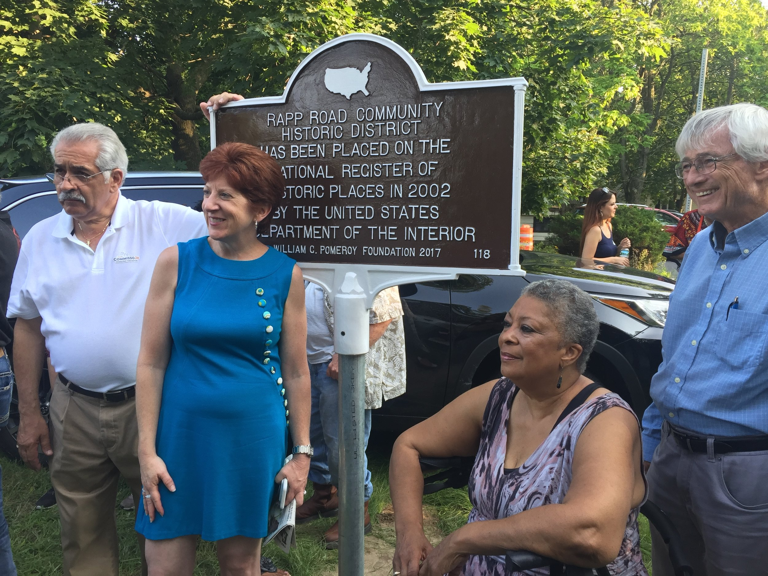 Rapp Road Historic District Sign Unveiling 2017.jpg