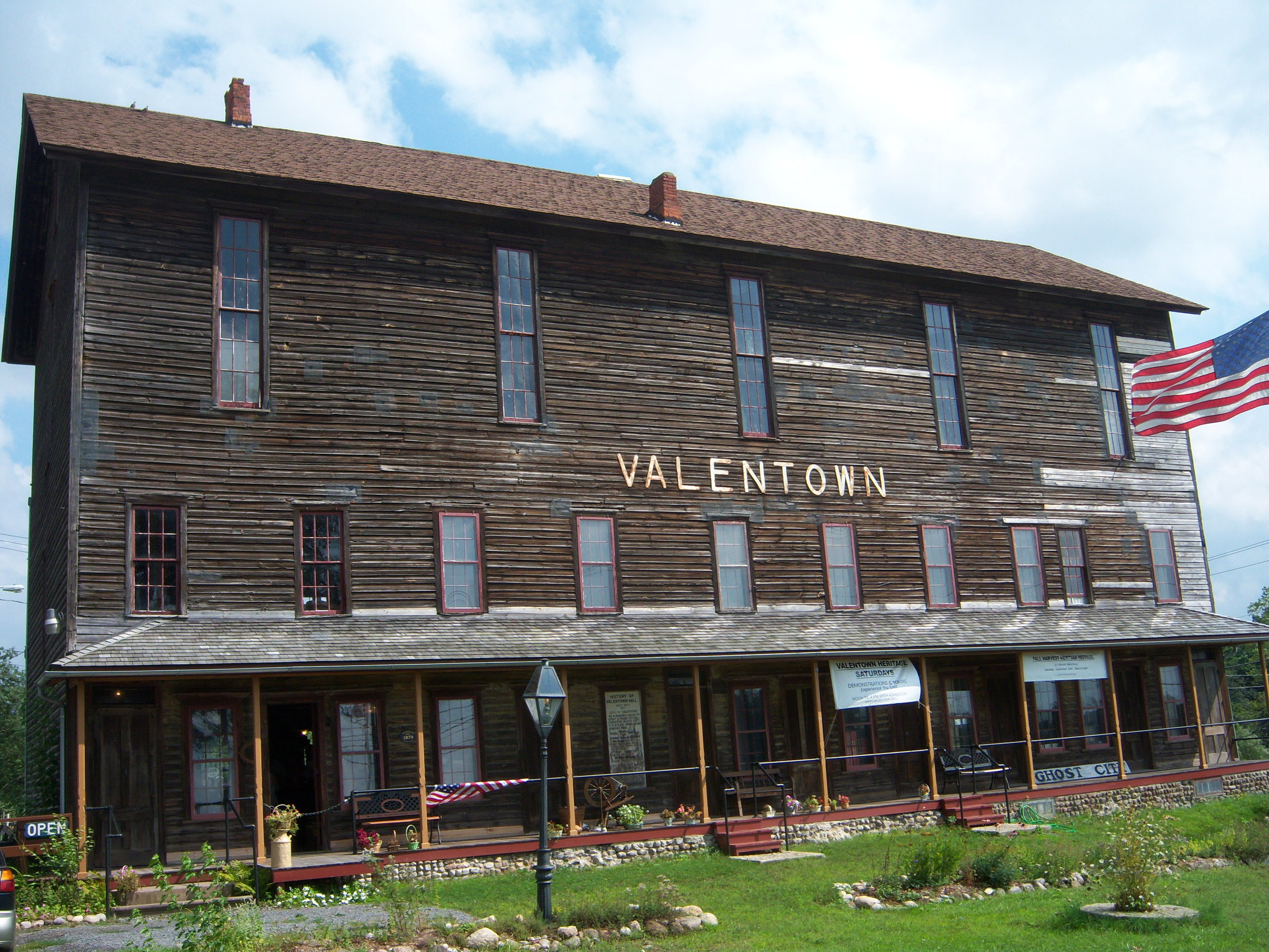 Victor Historical Society, Valentown Hall