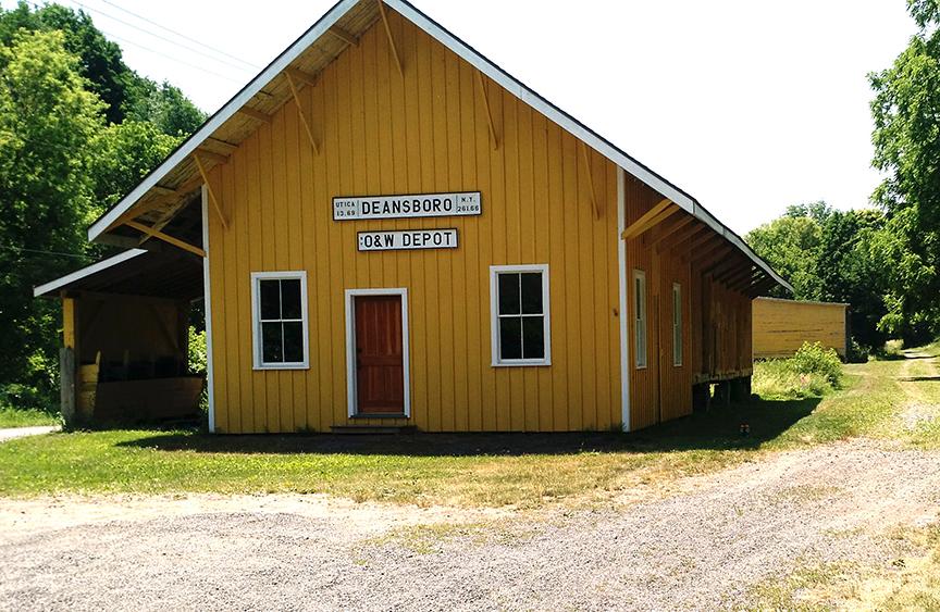 Brothertown Association, O & W Railway Passenger and Cargo Depot