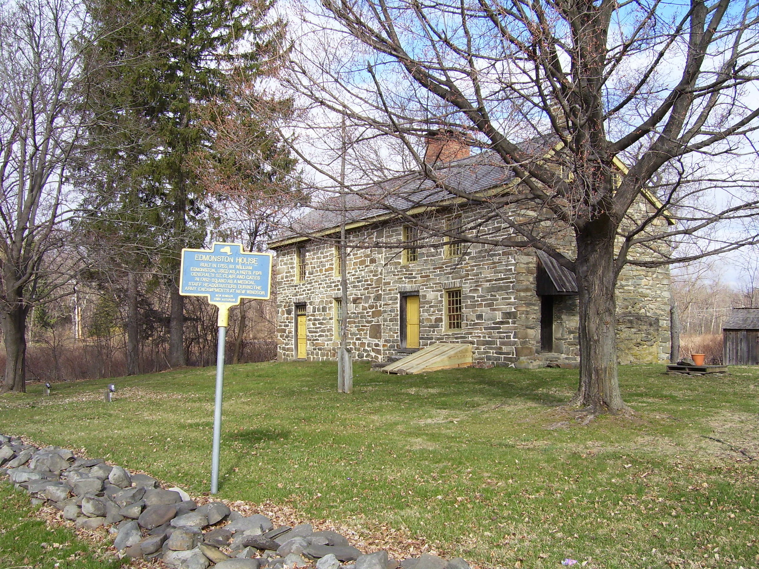 National Temple Hill Association, Colonial Stone House