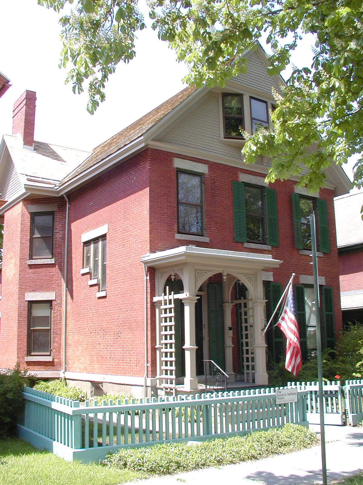 Historic Sites Relating to Women's Suffrage in Central New York (Susan B. Anthony House)