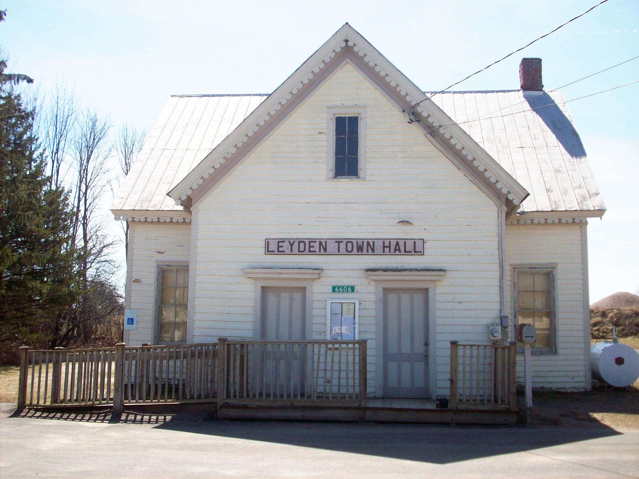 Leyden Common School No. 2/Leyden Town Hall