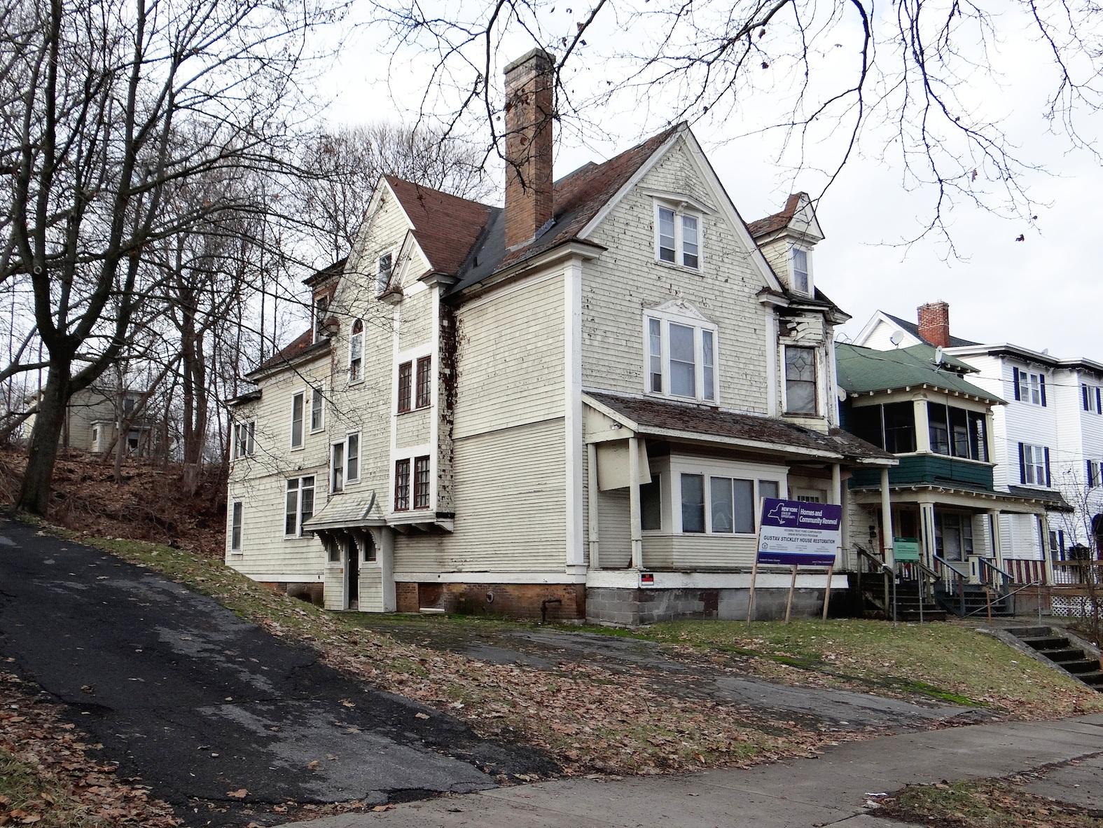 The Gustav Stickley House in Syracuse