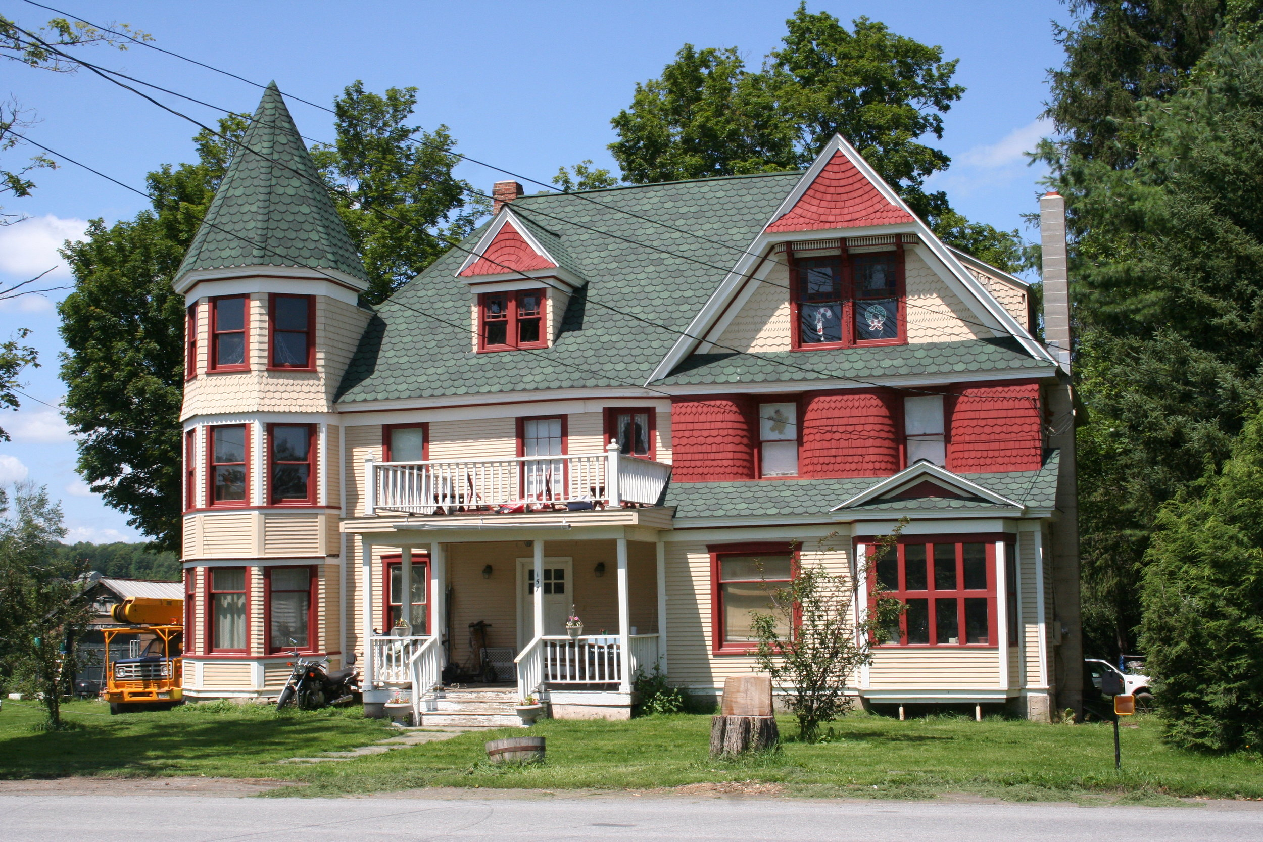 Hamlet of Jefferson (Dr. Richtmyer Hubbell house pictured)
