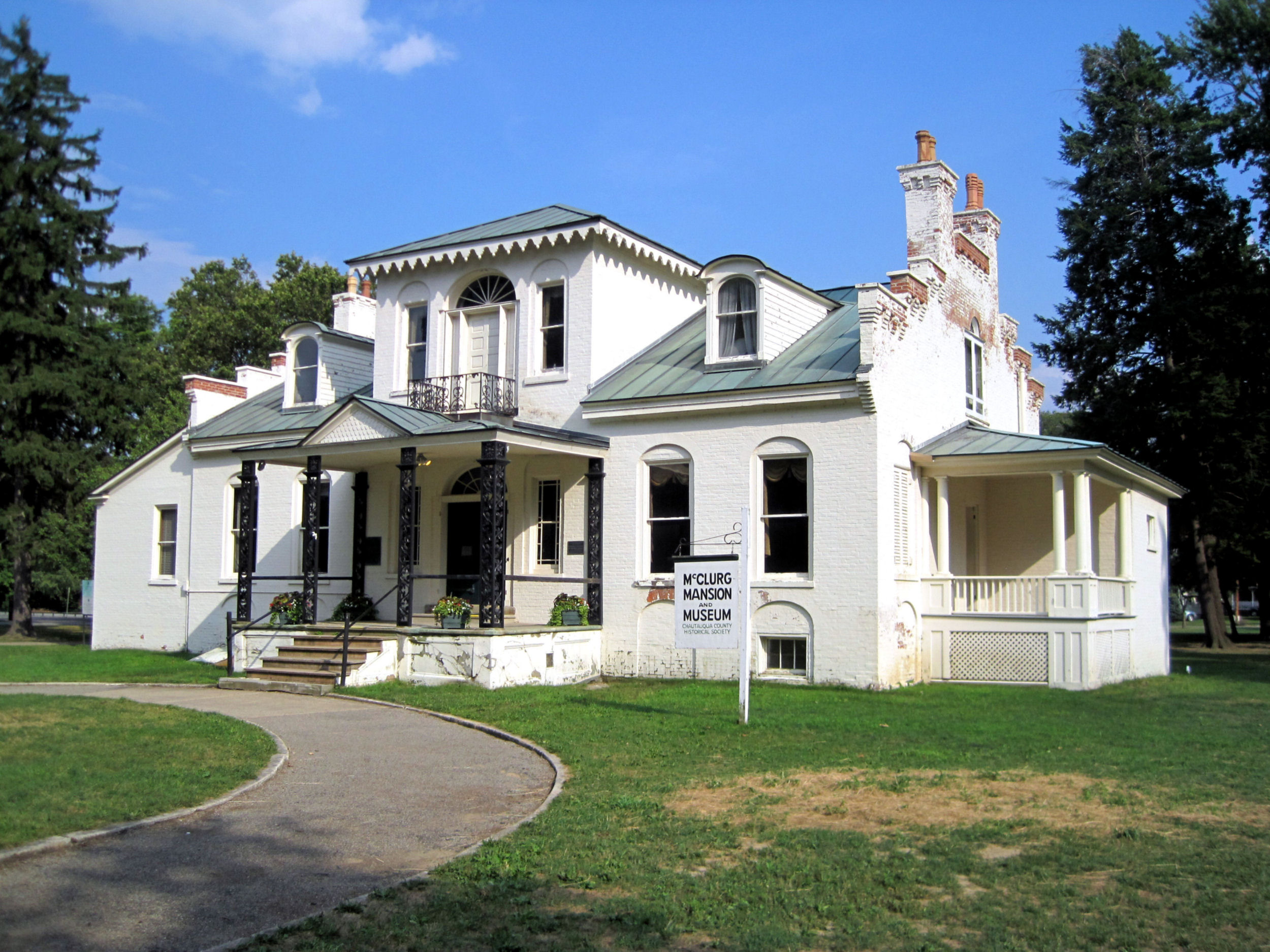 Chautauqua County Historical Society, McClurg Mansion