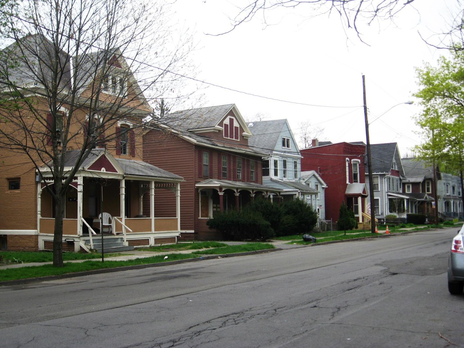 The West Clinton Street neighborhood, Elmira
