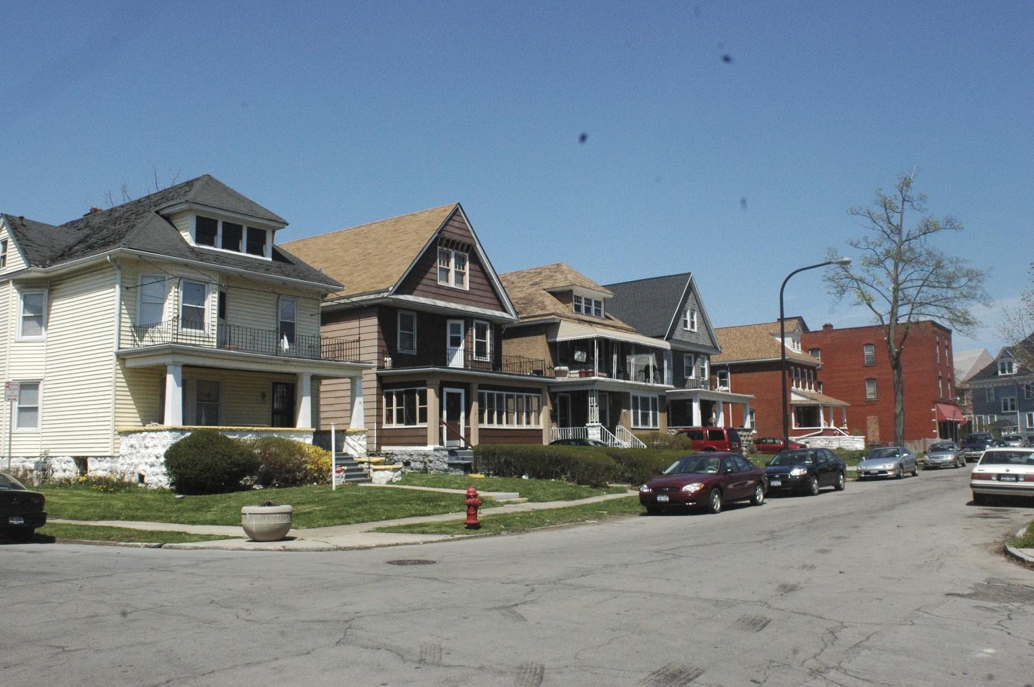 Hamlin Park neighborhood of Buffalo
