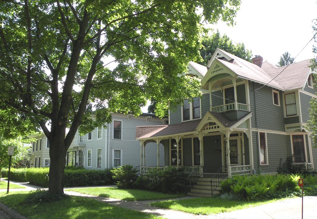 Henry St. John neighborhood, Ithaca