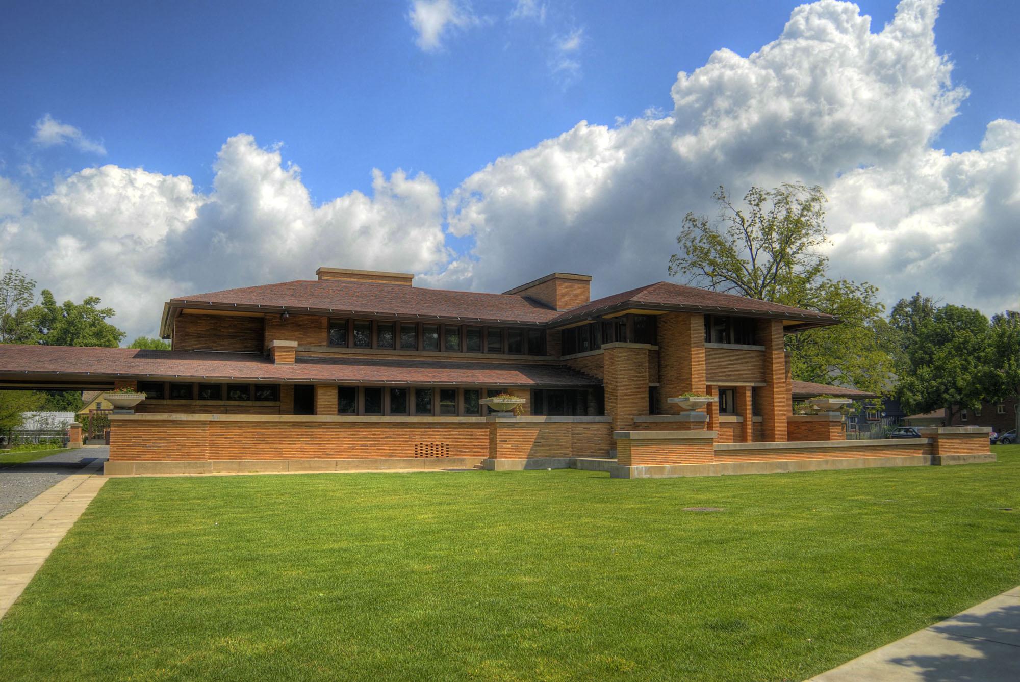 The Darwin D. Martin House, Martin House Restoration Corporation, Buffalo, Erie County