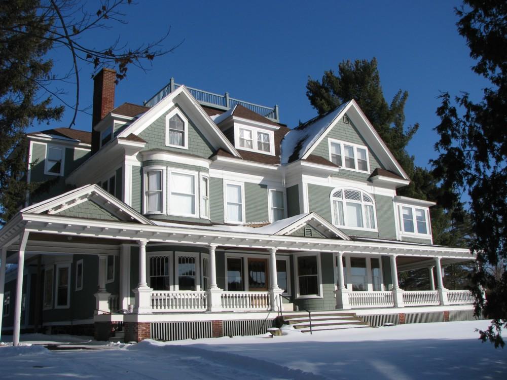 Helen Hill neighborhood, Historic Saranac Lake, Saranac Lake, Franklin County
