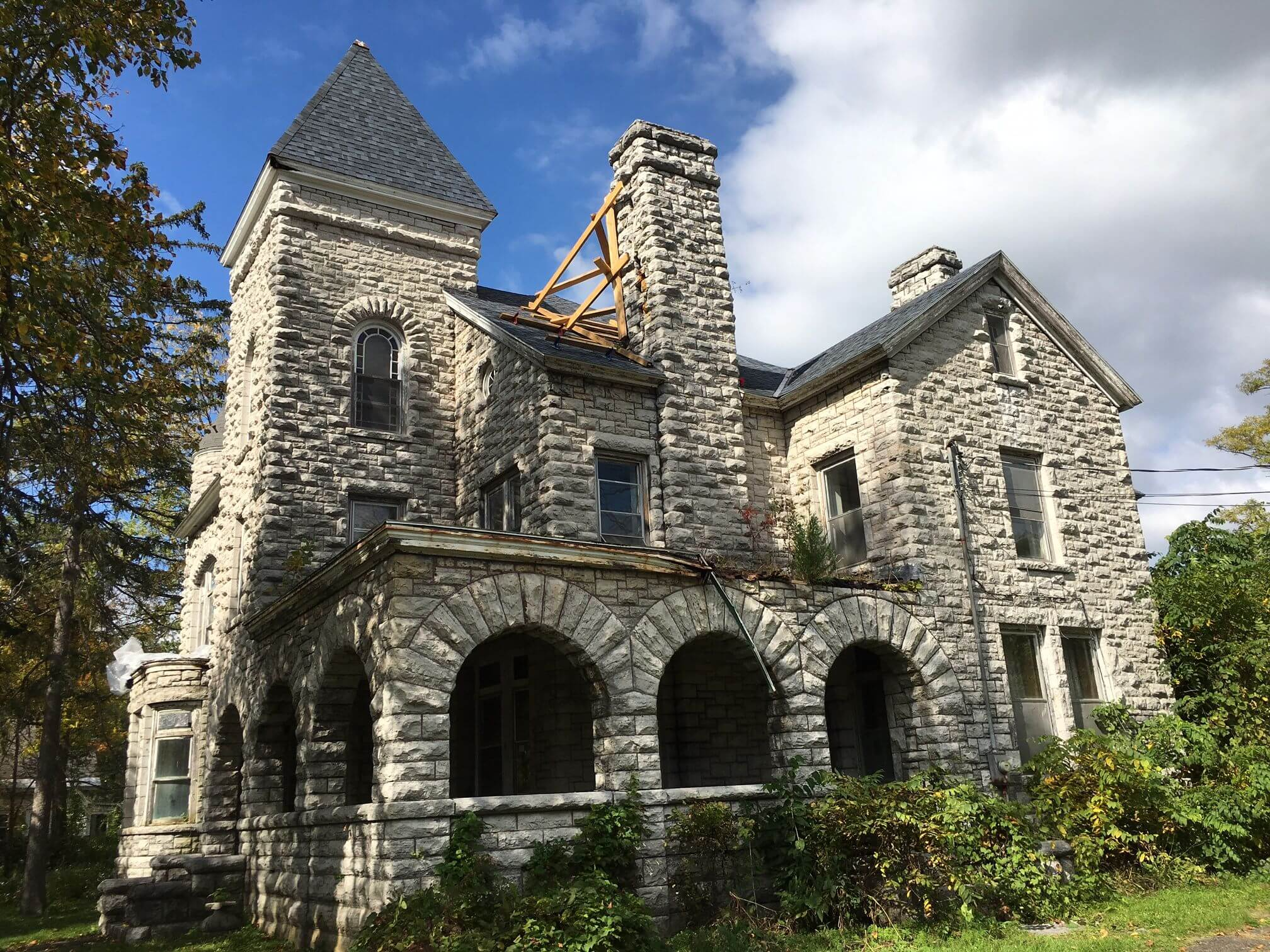 Montgomery County: Greater Mohawk Valley Land Bank - Stone Lodge Building Condition Report