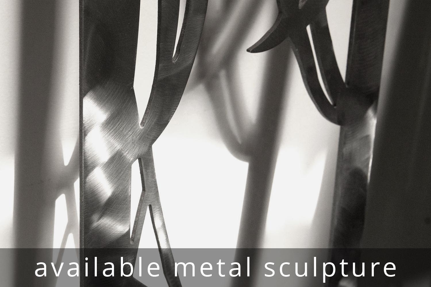 available metal sculpture