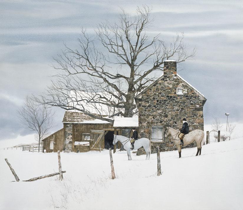 Sculthorpe Winter Riders Giclee.JPG