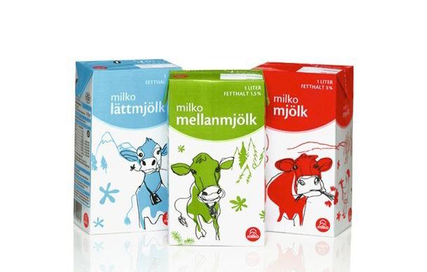 Illustration Milk Pack