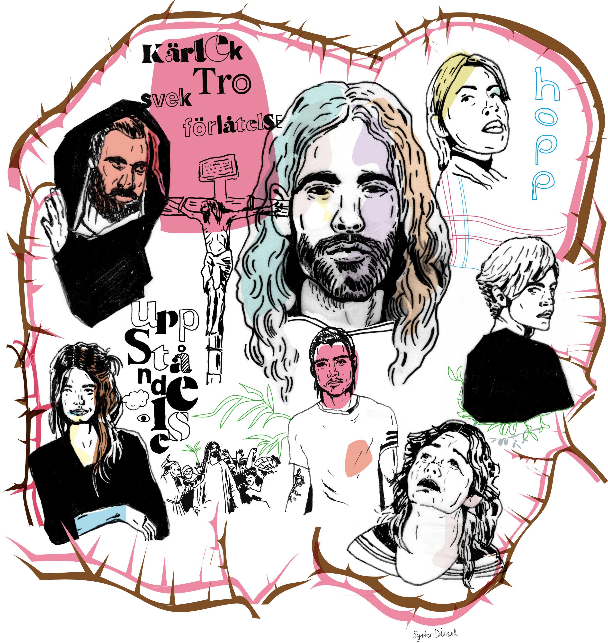 Illustration, Easter (magazine)