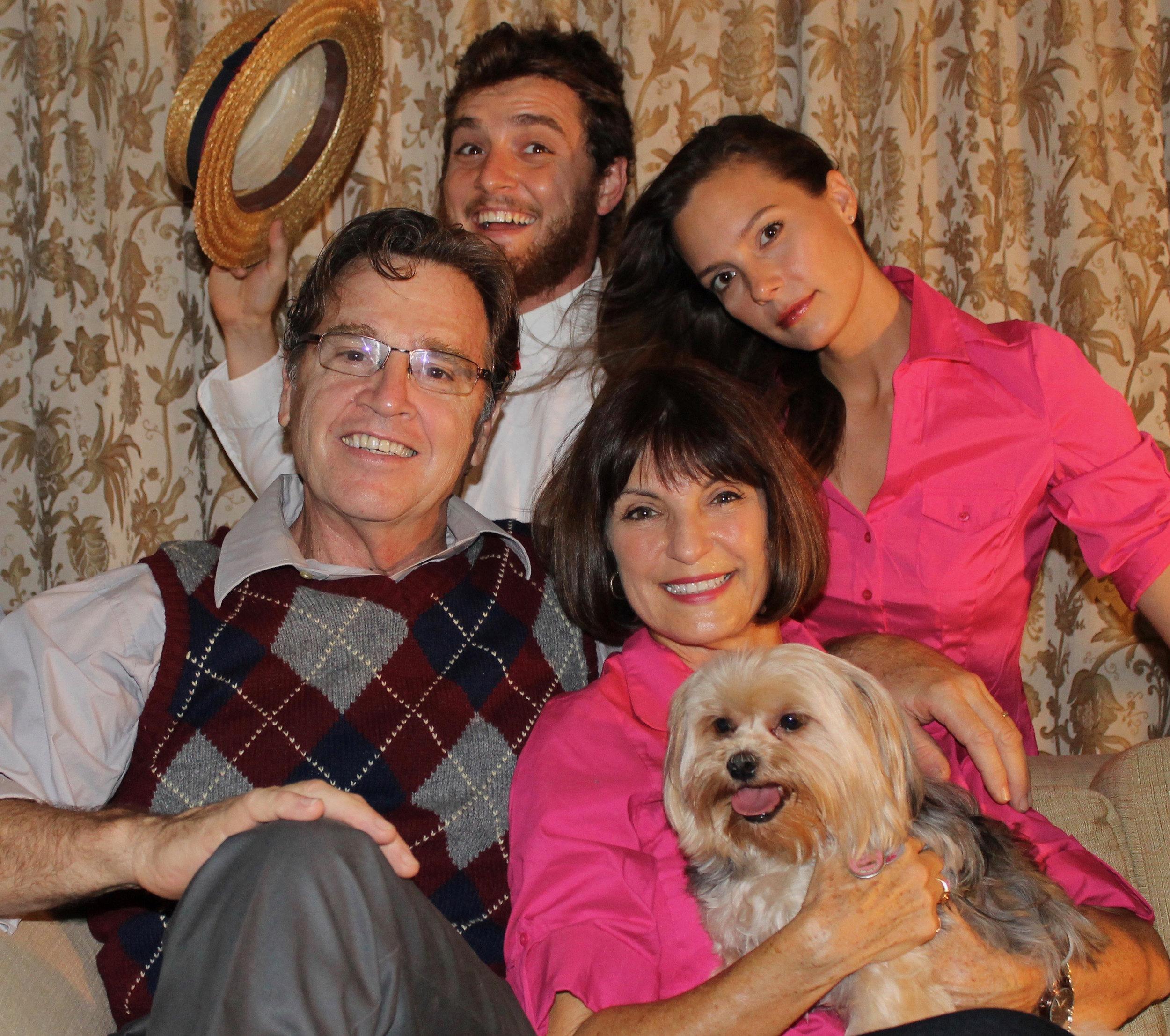 Jack McDonald, Amber McDonald Good, Mimi McDonald, and Gary McDonald, Key West first family of theater