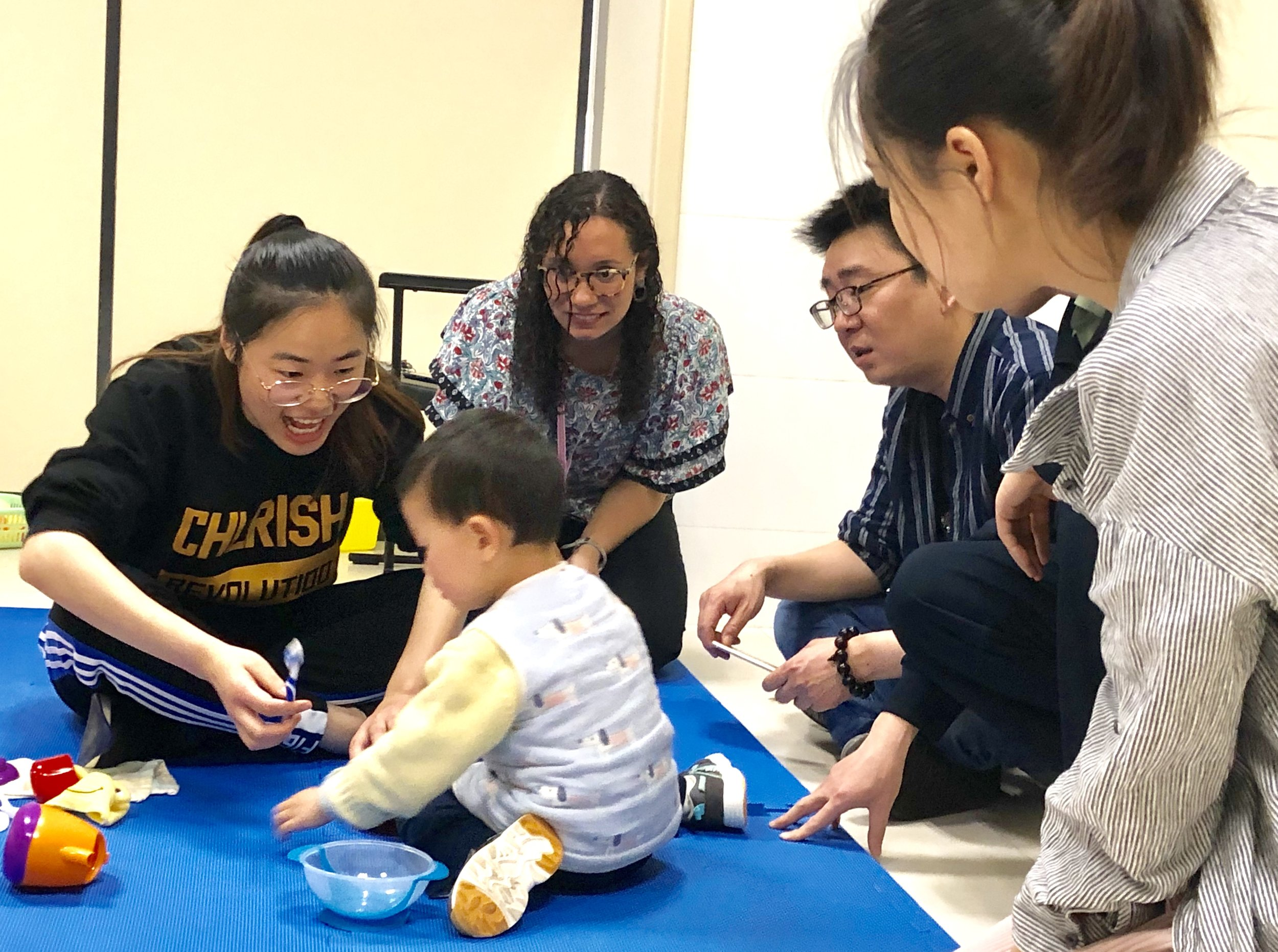 Autism Training in Hunan - In a collaborative effort with the Yale Child Study Center, the Center for Children with Special Needs, local Hunan NGO Ruijian, and health professionals at Xiangya Hospital, Yale-China facilitates workshops and online training for families of children with Autism.