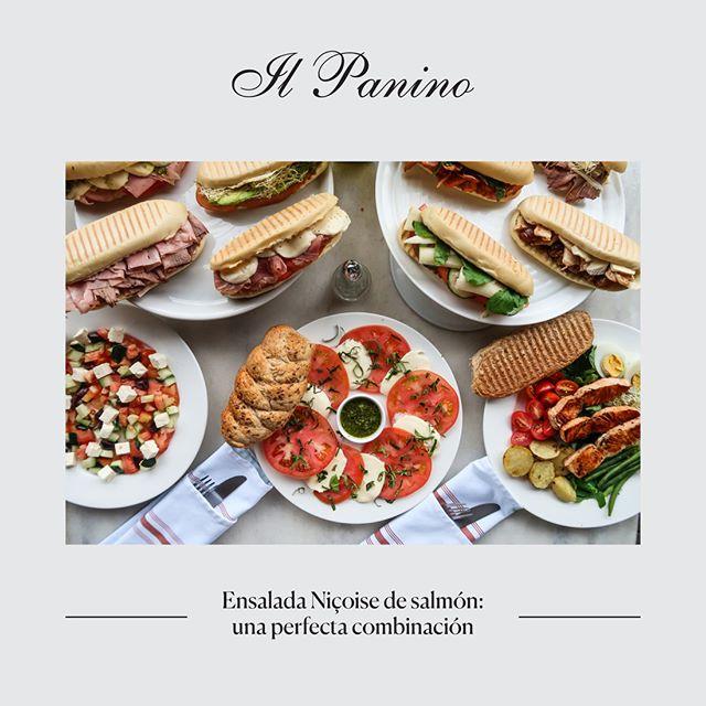 Ensalada Niçoise de salmón: una perfecta combinación. . . . #restaurante #delicioso #gastro #gourmet #chef  #foodies #foodgasm #enjoy #costarica #sanjose #instagood #food #amazing #foodporn #lunch #yummy #instafood #costarica #tasty #delicious #restaurant #niçoise #comida