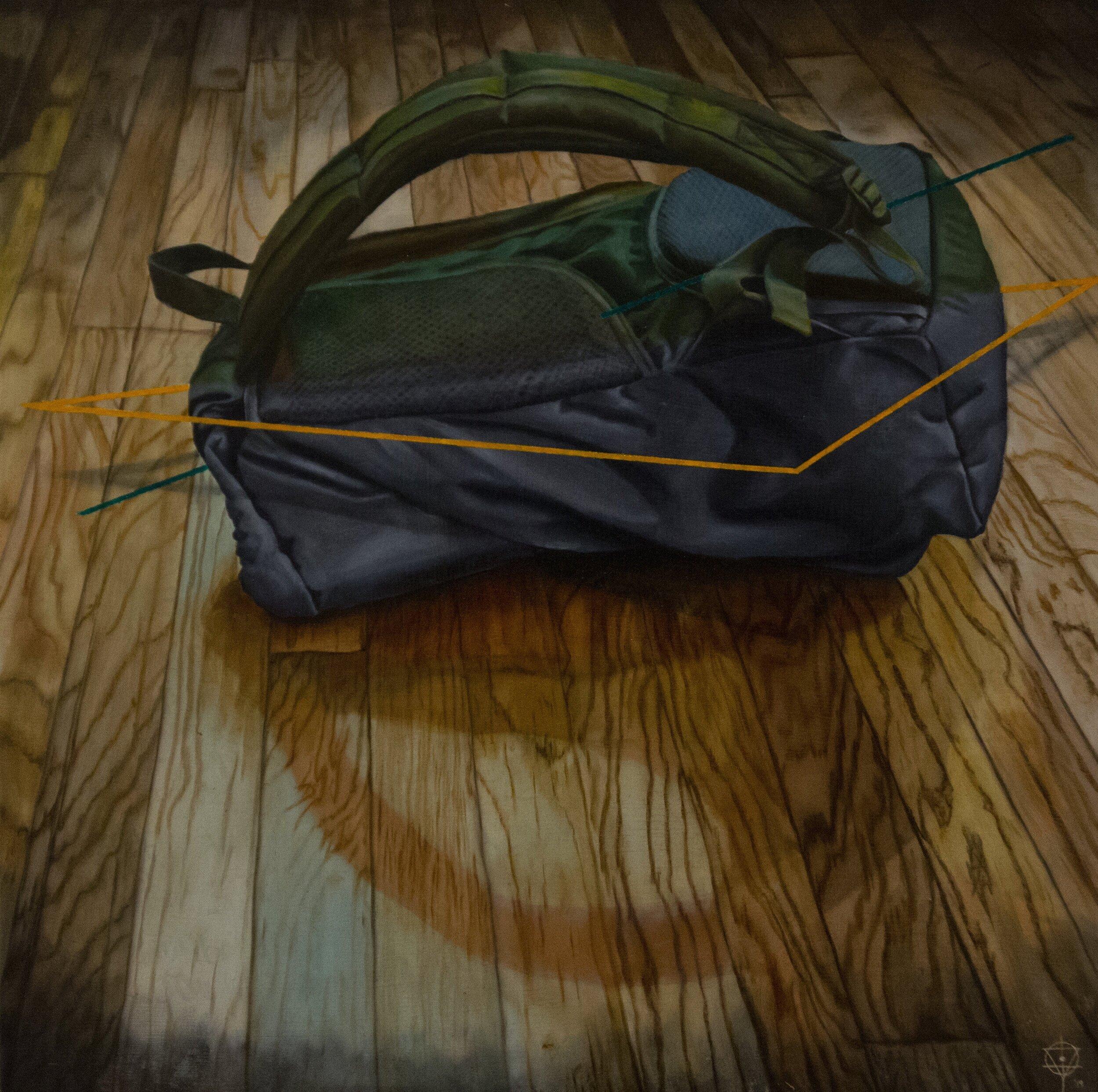 Self Portrait: Backpack